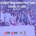 Global Young Leaders Peace Camp 2017 in Colombo, SriLanka