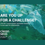 Call for Entries: Marine Plastics Innovation Challenge 2017