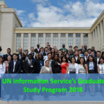UN Information Service's 56th Graduate Study Program 2018 in Geneva, Switzerland