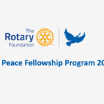 Rotary Peace Fellowships on Masters and Professional Development Program