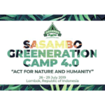 Sasambo Greeneration Camp 4.0 in Lombok Islan, Indonesia