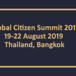 Global Citizen Summit (GCS) 2019 in Bangkok, Thailand