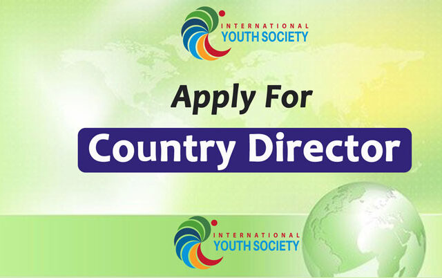 Apply for Country Director of International Youth Society