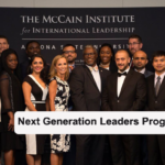 McCain Institute's Next Generation Leaders Program 2018 in USA